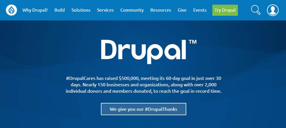 плюсы и минусы Drupal